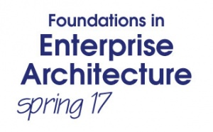 Foundations in Enterprise Architecture Bootcamp - Spring 2017 (S17BC)